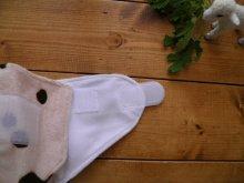 他の写真3: もこもこミルクソーダ【布おむつ本舗オリジナル】ポケット式ワンサイズおむつカバー ふんわり(マジックテープ/ミンキー素材)水色 ブルー 赤ちゃんらしいパウダーカラー モコモコ