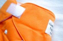 他の写真1: いちごミルク【布おむつ本舗オリジナル】ポケット式ワンサイズおむつカバー(マジックテープ)イチゴみるく ピンク ツルツル生地