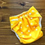 立ったまま履けるパンツ型ワンサイズおむつ/トレパンにも♪「ひまわり」ヒマワリ イエロー 黄色