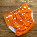 立ったまま履けるパンツ型ワンサイズおむつ「オレンジ」トレパンにも♪