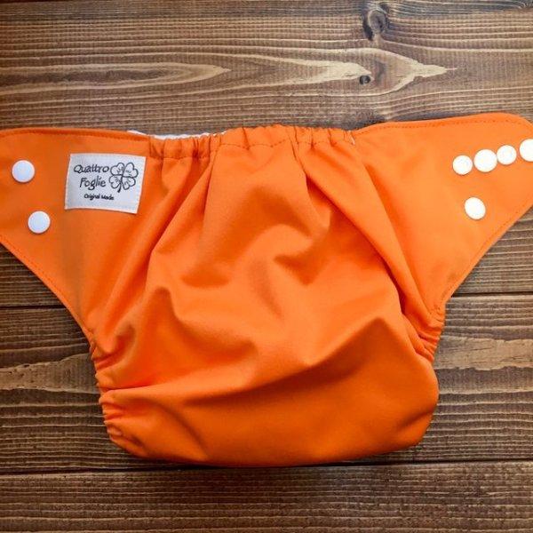 画像3: 立ったまま履けるパンツ型ワンサイズおむつ「オレンジ」トレパンにも♪