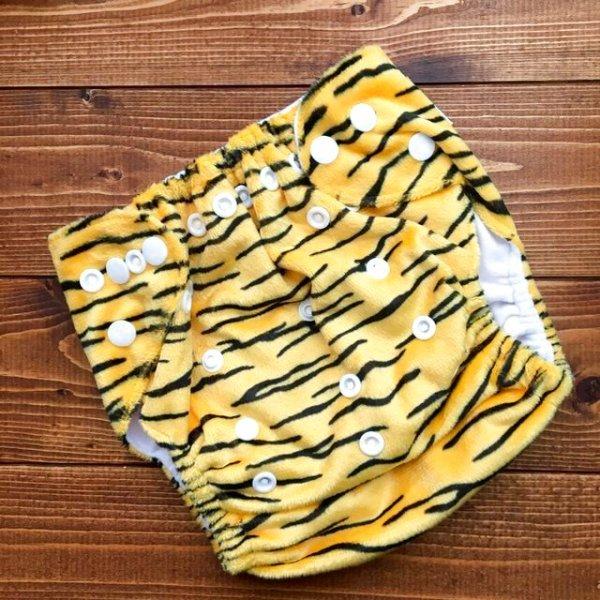 画像1: 鬼のパンツ〜♪立ったまま履けるパンツ型ワンサイズおむつ「トラ」トレパンにも♪人気! とら 虎
