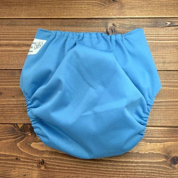 画像3: 立ったまま履けるパンツ型ワンサイズおむつトレパンにも♪「青空ブルー」