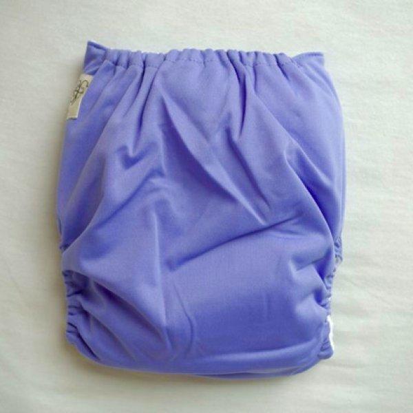 画像3: 立ったまま履けるパンツ型ワンサイズおむつトレパンにも♪「ラベンダー」紫陽花色 青紫