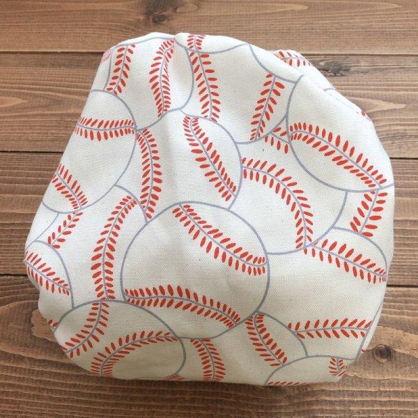 画像4: 野球ボール(キナリ)【よつばのおむつ/日本製/ハンドメイド】布おむつカバー (透湿性防水布使用/リニューアル版)男の子