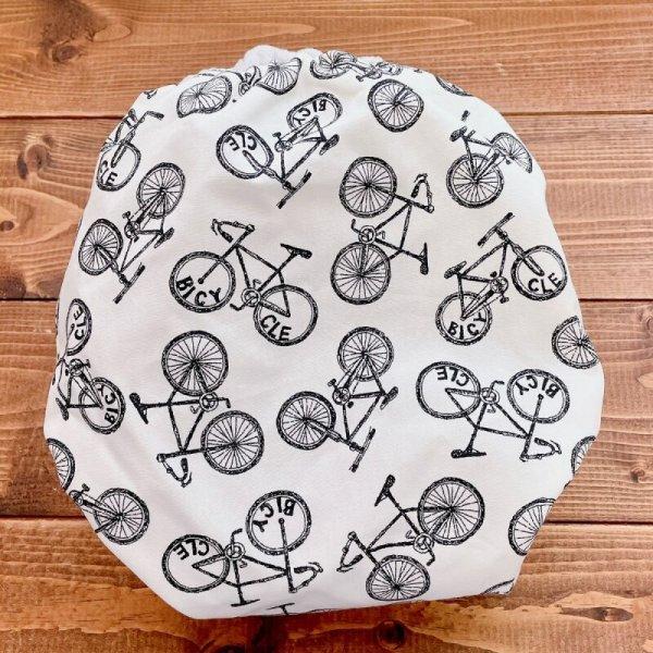 画像4: 自転車柄【よつばのおむつ/日本製/ハンドメイド】布おむつカバー (透湿性防水布使用/リニューアル版)bicycle,男の子