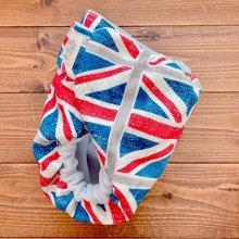 他の写真1: ユニオンジャック【よつばのおむつ/日本製/ハンドメイド】布おむつカバー (透湿性防水布使用)イギリス,国旗